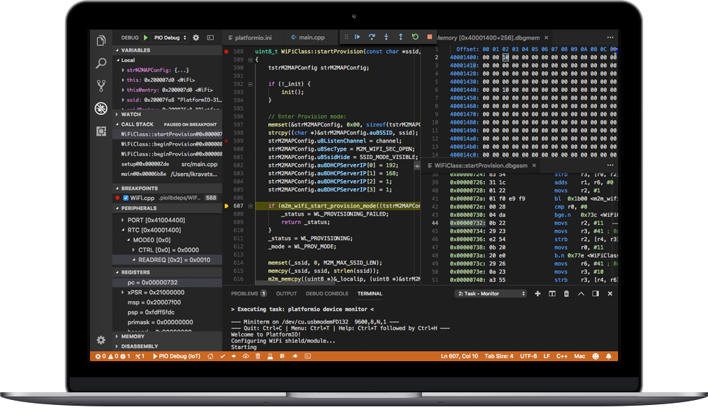 PlatformIO IDE: The next-generation integrated development